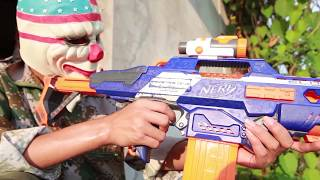 NERF WAR : SWAT Warriors Nerf Guns Fight Dangerous Criminals Legend Mask