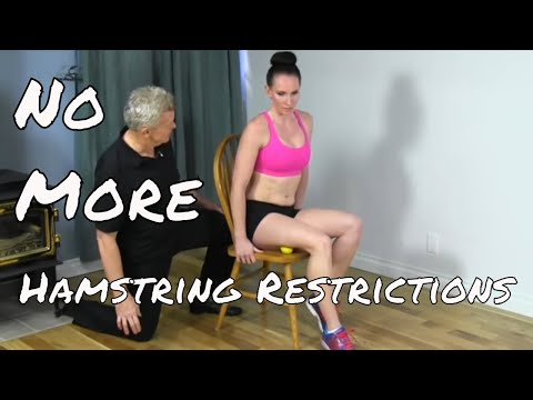 Hamstrings Myofascial Release & Pin and Stretch