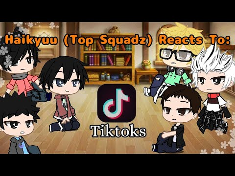 Download Haikyuu Tops Reacts To Tiktoks    Part 2 of Bottoms Reacts    Same Ships    Read Desc. please