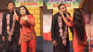 Rashid kamal With Shanza || Stage drama Mano Bili || New Full Comedy Drama clip 2020