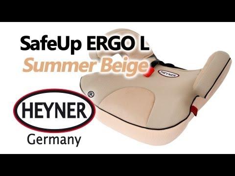 HEYNER SafeUp ERGO L Summer Beige — бустер — видео обзор 130.com.ua