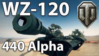 ^^| WZ-120 440 Alpha (World of Tanks Gameplay.)