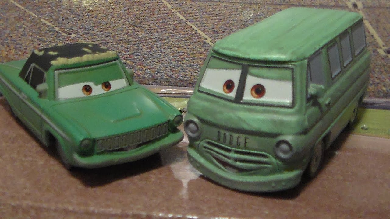 Cars movie moments diecast