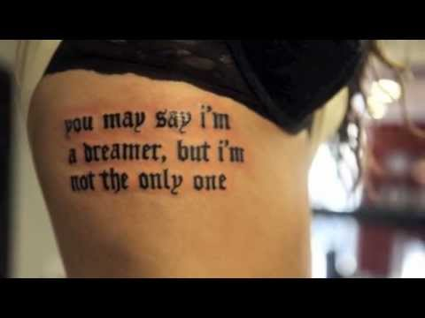 Beautiful Inspirational Quote Tattoos The Friday Night Boys That S