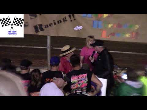Birthday Card From The Racecar Drivers To Hummingbird Speedway Track