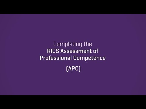 Completing the RICS APC through structured training | 2017 update