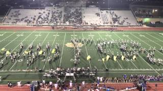 Clark cougar band game 9-18-15