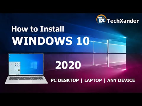 How To Install Windows 10 PRO   2020   From USB   Full Installation Tutorial   Step By Step