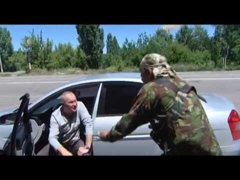 7  Боец батальона Айдар поссорился с жителем Луганска из за Путина 2014