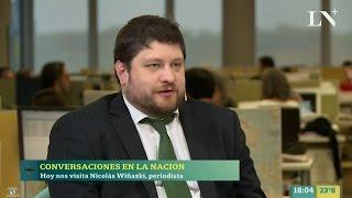 """N.Wiñazki en """"Conversaciones"""" con H.Alconada Mon - 04/05/17"""