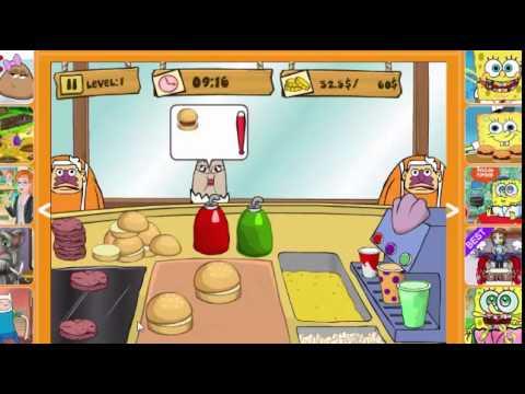 Spongebob Krabby Patty Dash Game