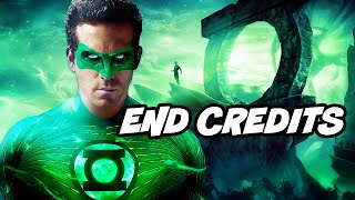 Crisis On Infinite Earths Ending - Justice League Scene and Green Lantern Easter Eggs