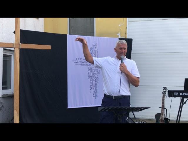 Taufpredigt von Pastor Andreas Baer am 26.09.2021