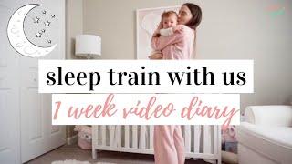 SLEEP TRAIN WITH US 😴   Co-Sleeping To Sleeping Through The Night   Sleep Training Tips