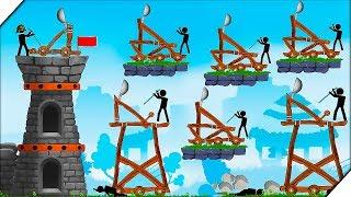 СУПЕР КАТАПУЛЬТА - Игра The Catapult Обзор Игры для андроид