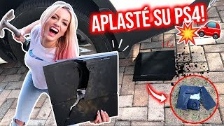 BROMA CRUEL! DESTRUÍ SU PLAYSTATION 4!! 😱💥 | Katie Angel