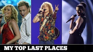 Eurovision LAST PLACES in the finals (2000-2017) | My Top 18