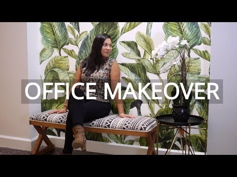 GORGEOUS OFFICE MAKEOVER IDEAS | DONE SIMPLY