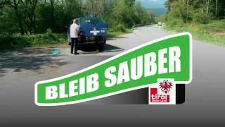 Tiroler Landesstraßen - Bleib sauber - Werbespot