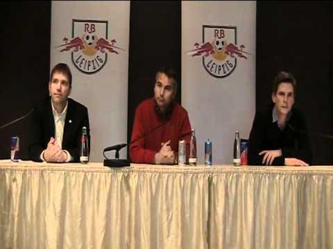 Pressekonferenz von RB Leipzig mit Peter Pacult