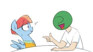 [MLP Comic Dub] Tasting the Rainbow('s Mom) - Comic by Shoutingisfun (Saucy, Comedy)