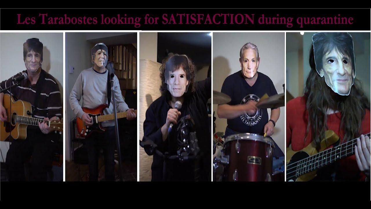 Les Tarabostes - I can't get no Satisfaction ( C O V E R )
