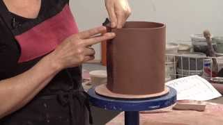 Pottery Video: Tips for Strong Joints on Slab-built Pottery | LISA NAPLES