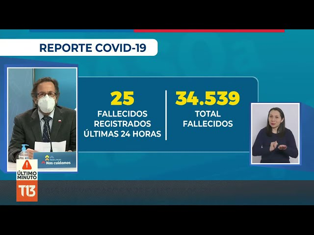 Coronavirus en Chile: reporte 19 de julio
