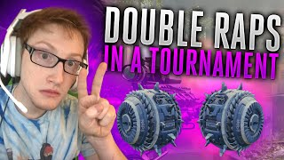 double raps in a tournament