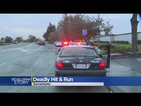 Bicyclist Killed In Hit-And-Run In South Sacramento, Search Still On For Suspect