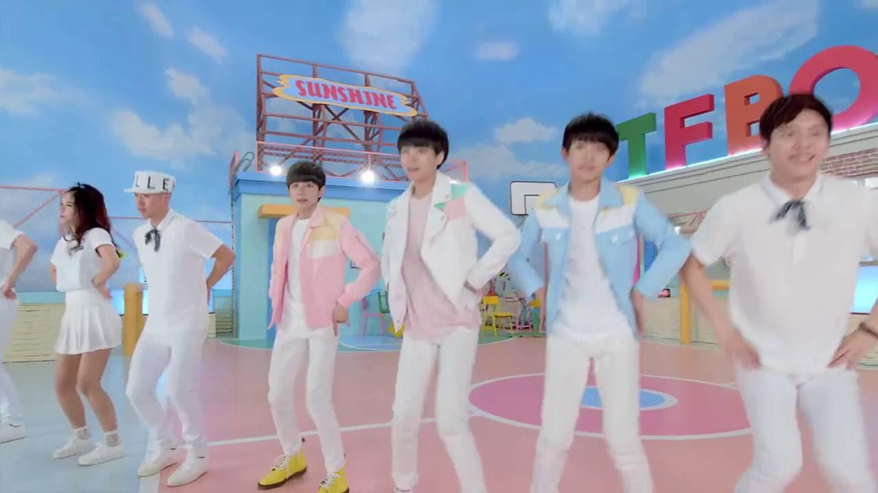 20150723 TFBOYS《寵愛Adore》 舞蹈版Official Dacing MV