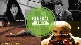 General Anesthesia 1