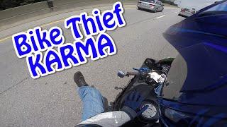 Bike Stolen=INSTA KARMA
