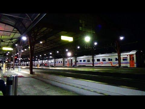 Suara Indah Pengumuman Sambutan Kedatangan Kereta Api Di Stasiun Semarang Tawang, Purwokerto, Gambir