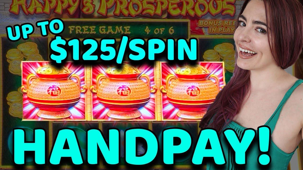 RETRIGGER BONUS GAME LANDS JACKPOT HANDPAY on DRAGON LINK in LAS VEGAS!