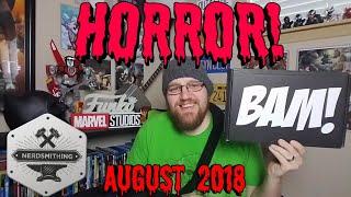 Unboxing BAM Horror Aug 2018