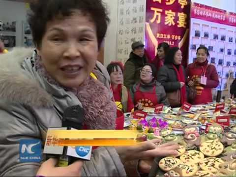 Grand feast of 10,800 dishes welcomes Spring Festival