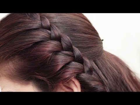 French Braided Hairstyle for Girls Tutorials