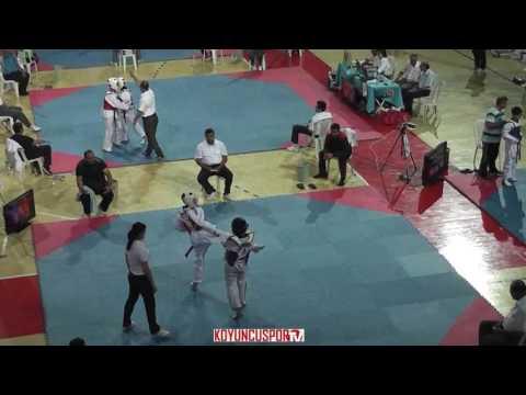 49kg Oguzhan Kilickaya vs Metin Engin Teke (2017 Turkish Cadet TKD Championships)