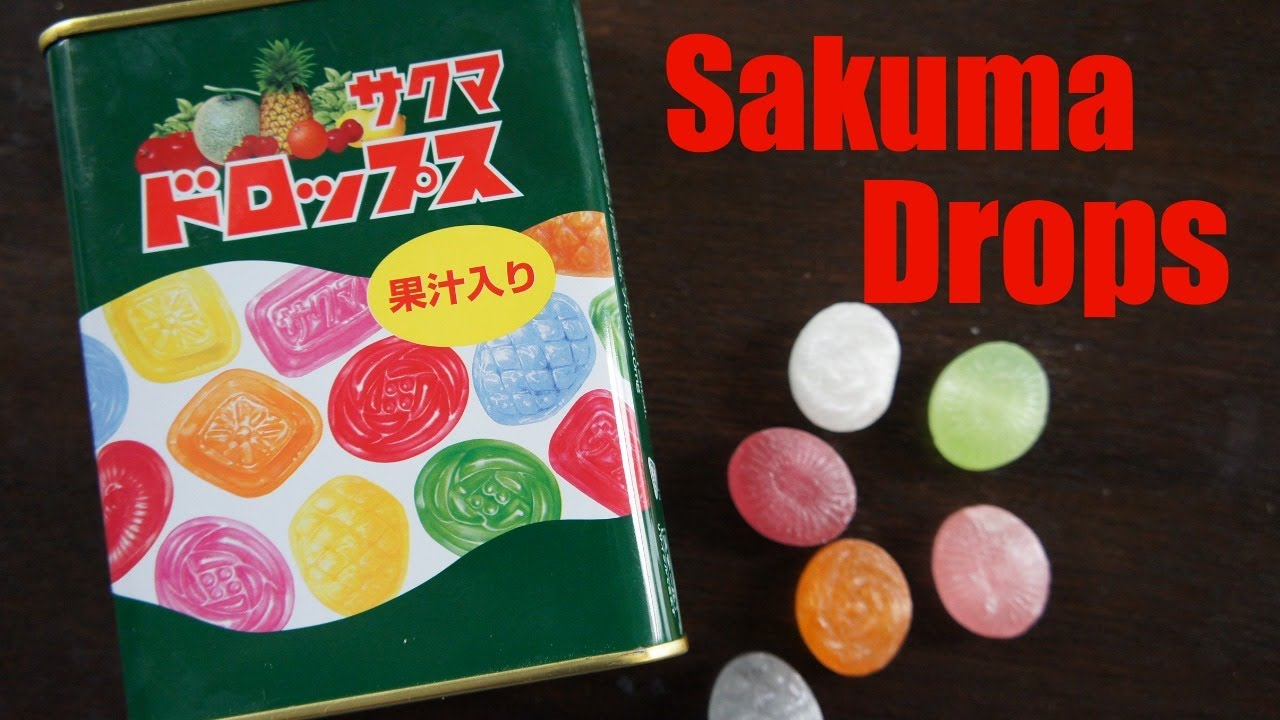 Sakuma Drops | Whatcha Eating?...