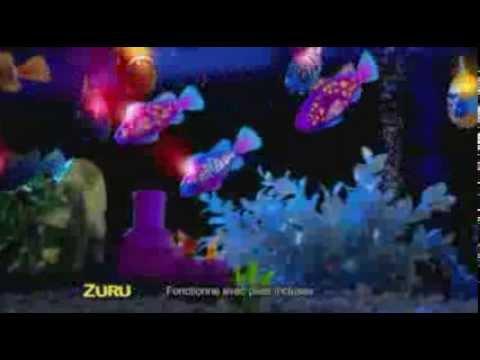 Robo fish lumineux youtube for Robo fish tank
