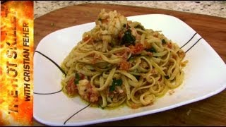 Pasta With Deviled Ham And Lobster Recipe | The Hot Skillet With Chef Cristian Feher