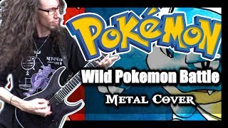 Pokemon Red Blue Yellow WILD BATTLE - Metal Cover by ToxicxEternity