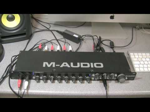 M-Audio M-Track Eight review