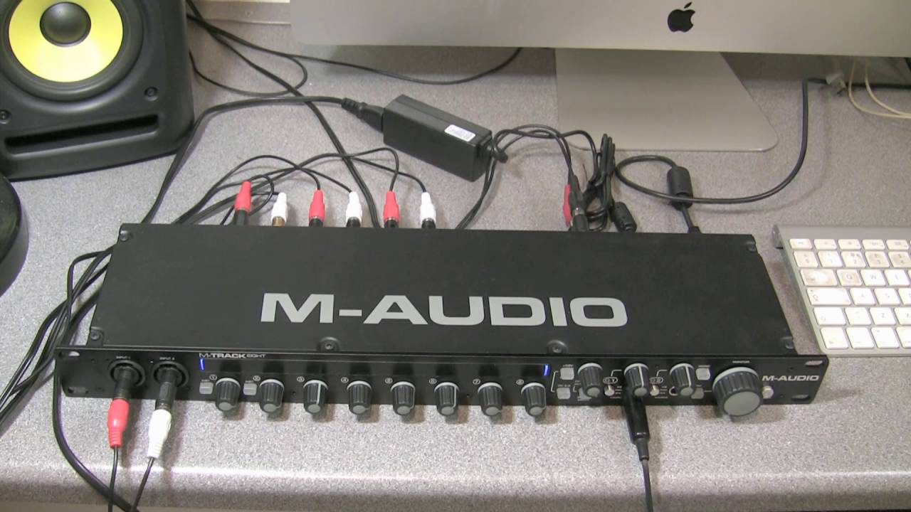 Musical Instruments & Gear M-audio M-track Eight 8-channel Usb Midi Audio Interface