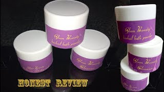 Glam Beauty  Skincare Products | Honest Review |Paraben & SLS Free | Handmade Products | SahiJeeth