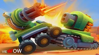 GAME Tanks a lot! Leader Board  Strong Cannon  Gameplay - TANKS4ALL