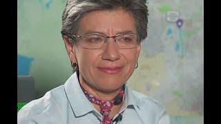 Con lágrimas, Claudia López le dedicó el triunfo en las elecciones a su madre