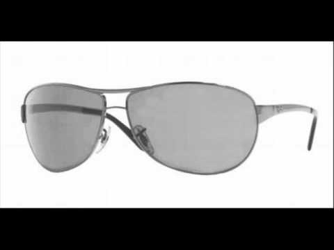 2d828c5f77 Ray Ban Casual Lifestyle Warrior Gunmetal Polarized RB 3342 004 58  Sunglasses