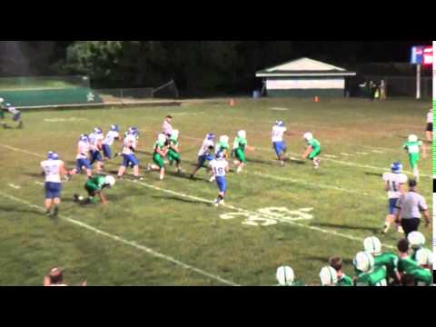 Logan Middle David Early TD up the Middle